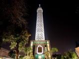 Kair, Wieża Kairska, nocą