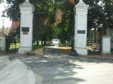Pałac Jabłonowskich w Kocku, brama wjazdowa