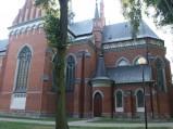 Kościół św. Wojciecha w Wąwolnicy od strony prezbiterium
