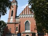 Fasad Bazyliki św. Wojciecha w Wąwolnicy