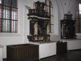 Ołtarz boczne w Katedrze Oliwskiej