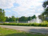 Multimedialny Park Fontann w Warszawie, skwer im. I Dywizji Pancernej
