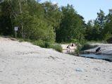 Plaża w Ostrowie, wejście nr 38