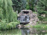 Park Skaryszewski, wodospad, kaskada wodna