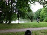 Stawik w Parku Skaryszewskim