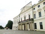Pałac Sanguszków wejście