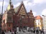 Ratusz we Wrocławiu, od strony wschodniej