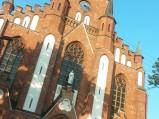 Fasad kościoła w Stoczku Łukowskim