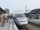 Dworzec kolejowy w Luksemburgu, perony