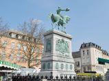 Pomnik Wilhelma II w Luksemburgu na placu Guillaume II