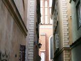 Archikatedra św. Jana, widziana z ulicy Piwnej