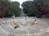 Fontanna w Parku Marszałka Edwarda Śmigłego-Rydza w Warszawie
