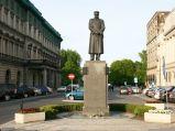 Pomnik Józefa Piłsudskiego przy Placu Piłsudskiego w Warszawie