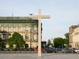 Krzyż papieski na Placu Piłsudskiego