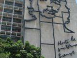 Che Guevara, fresk na Ministerstwie Spraw Wewnętrznych przy Placu Rewolucji