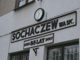 Dworzec Kolei Wąskotorowej W Schochaczewie