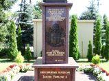 Tablica na pomniku Jana Pawła II