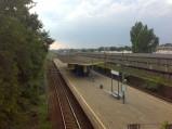 Olszynka Grochowska, Stacja SKM, PKP