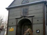 Fasada kościoła św. Mikołaja w Horodle