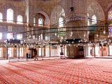 Błękitny Meczet, wnętrze