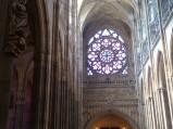 Witraż w katedrze w Pradze
