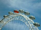 Czerwony Wagoniki London Eye