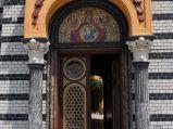 Wejście do Synagogi w Braszowie