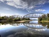 Most kolejowy w Górze Kalwarii