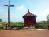 Kapliczka i krzyż we Wnętrznem