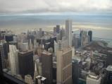 Widok Widok na Chicago z Sears Tower
