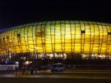 PGE Arena, nocą