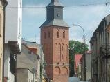 Wieża Kościół Wniebowzięcia NMP w Lipnie