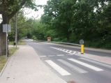 Dojście do wąwozu, droga 215, Aleja Żeromskiego