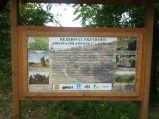 Tablica informacyjna, Dolina Chłapowska