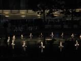 Fontanna w Metropolitan noca