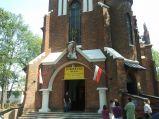 Wejście do Kościół św. Jana Chrzciciela w Pawłowie.