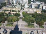 Widok na ulicę Świętokrzyską