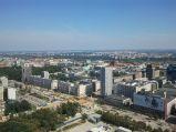 Widok na ulicę Świętokrzyską i budowę metra