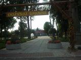Fontanna w Puchaczowie