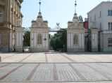 Brama Uniwersytetu Warszawskiego, na krakowskim Przedmieściu