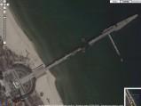 Molo w Sopocie, zdjecie Google wykonane podczas remontu :)
