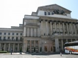 Teatr Wielki, widok z ulicy Senatorskiej