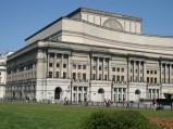Teatr Wielki, widok z Placu Piłsudskiego