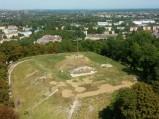 Wysoka Górka, widok z dzwonnicy Bazyliki