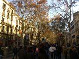 La Rambla w Barcelonie