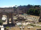 Forum Romanum, łuk triumfalny Septymiusza Sewera
