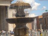 Fontanna na Placu św. Piotra, Rzym