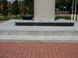 Napisy na pomniku