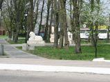 Posągi lwów w Horodle