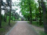 Wejście do Parku od ulicy Piłsudskiego